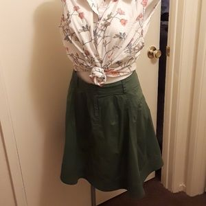 Green skirt by Mossimo supply company